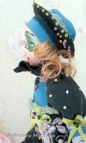 Наконец то я доделала свою третью куклу))) Процесс был долгим, но результат порадовал.. раставалась с ней со слезами на глазах)))... фото 8