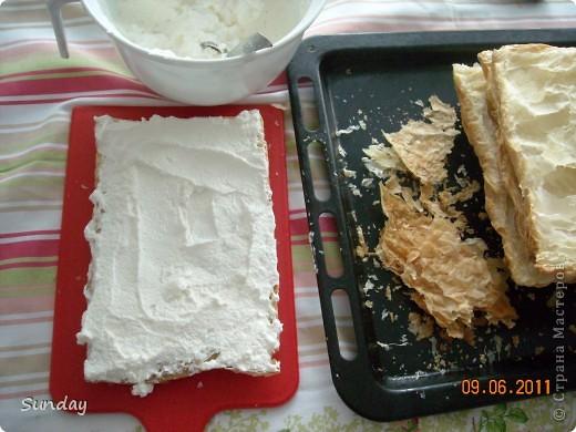 Сегодня к вечернему чаепитию, готовим по-быстренькому  дежурный тортик, любимый всей семьей. фото 6
