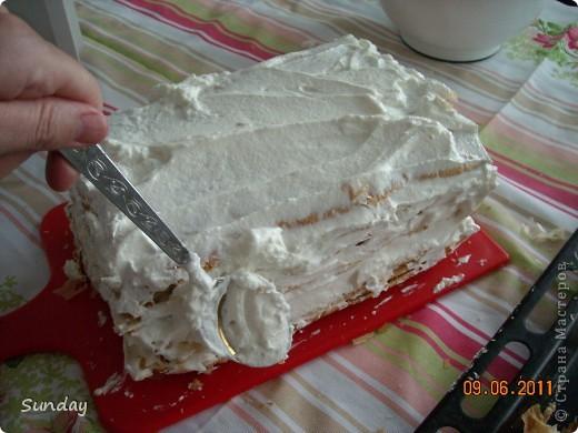 Сегодня к вечернему чаепитию, готовим по-быстренькому  дежурный тортик, любимый всей семьей. фото 8