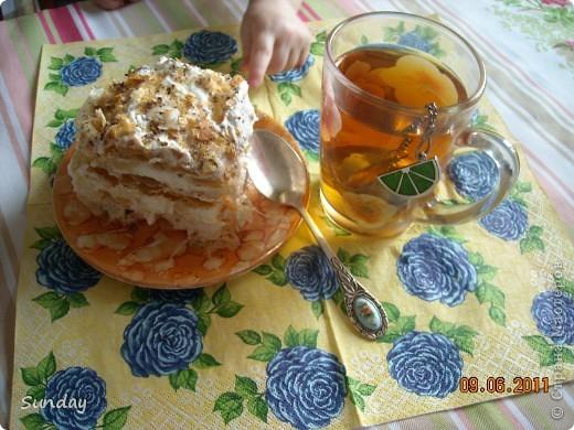 Сегодня к вечернему чаепитию, готовим по-быстренькому  дежурный тортик, любимый всей семьей. фото 10