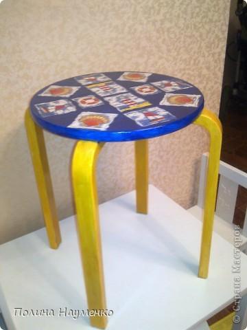 На работу со стульями вдохновила вот эта работа http://stranamasterov.ru/node/155621 фото 3