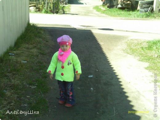 пальто,шапка  и шарф фото 4