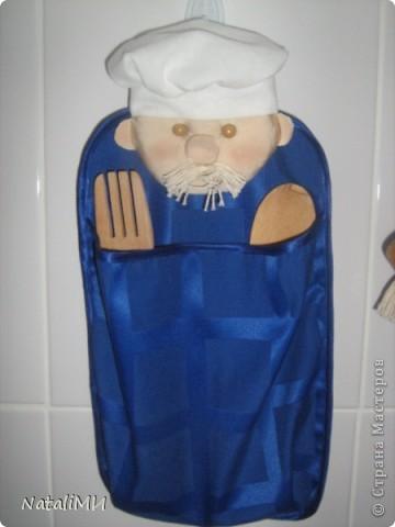 Веселое настроение на кухне можно создать с помощью таких прихваток-поварят. фото 5