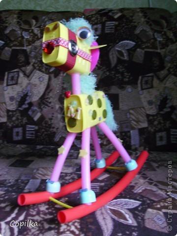 Эта лошадка уже не бумажная,это мой любимый мусор! фото 3
