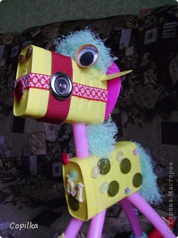 Эта лошадка уже не бумажная,это мой любимый мусор! фото 4