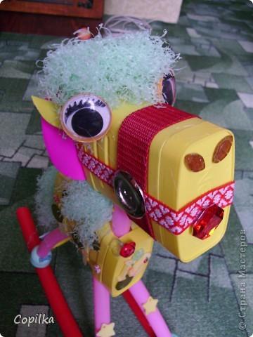 Эта лошадка уже не бумажная,это мой любимый мусор! фото 6