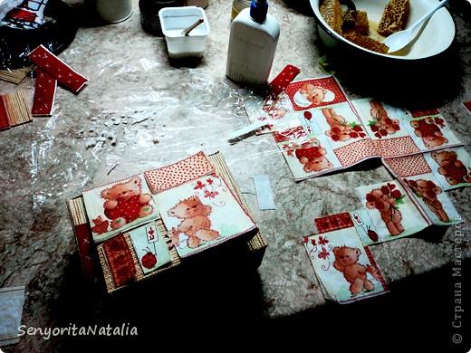 Старалась делать шкатулочки/коробочки разные в своё удовольствие) фото 8