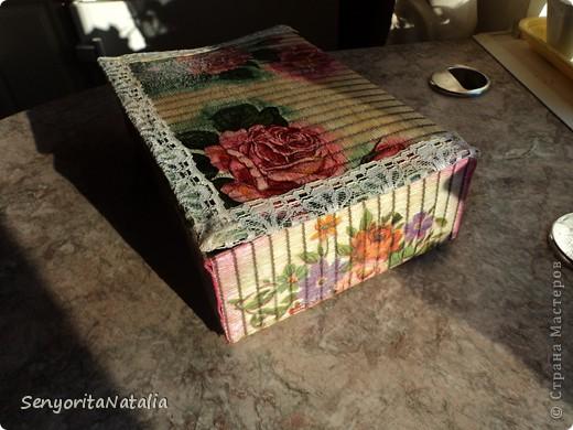 Старалась делать шкатулочки/коробочки разные в своё удовольствие) фото 2