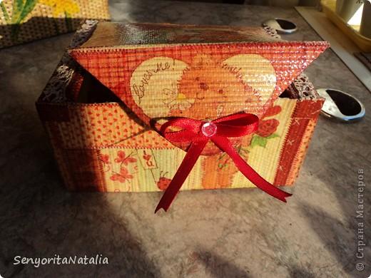 Старалась делать шкатулочки/коробочки разные в своё удовольствие) фото 6