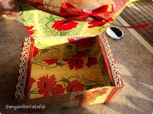 Старалась делать шкатулочки/коробочки разные в своё удовольствие) фото 7