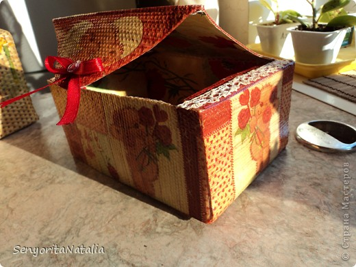 Старалась делать шкатулочки/коробочки разные в своё удовольствие) фото 9