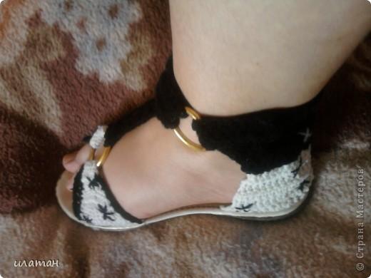 Реставрация обуви, вязаные