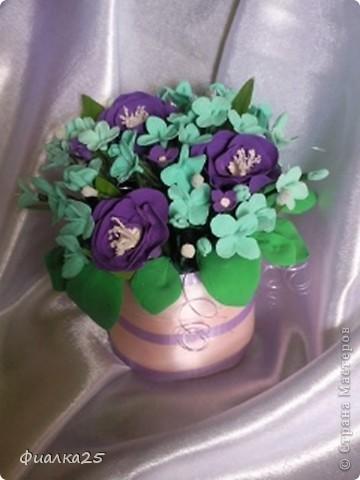 Учусь делать цветочки из пластики фото 3