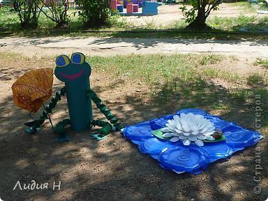 Эти поделки сделали для оформления участка в д/саду. фото 3