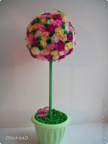 Цветочное деревце фото 1