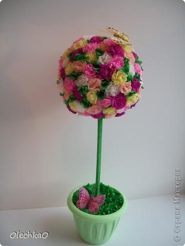 Цветочное деревце фото 3