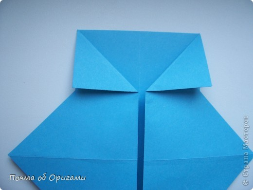 Наш сказочный щенок будет жить в корзинке сложенной в технике оригами, как и он сам.  Идея его создания забавного песика принадлежит Эдвину Кови, а вот корзинку придумал Альдо Патиниьяно. фото 11
