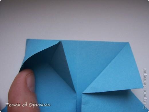 Наш сказочный щенок будет жить в корзинке сложенной в технике оригами, как и он сам.  Идея его создания забавного песика принадлежит Эдвину Кови, а вот корзинку придумал Альдо Патиниьяно. фото 12