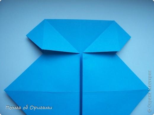 Наш сказочный щенок будет жить в корзинке сложенной в технике оригами, как и он сам.  Идея его создания забавного песика принадлежит Эдвину Кови, а вот корзинку придумал Альдо Патиниьяно. фото 14