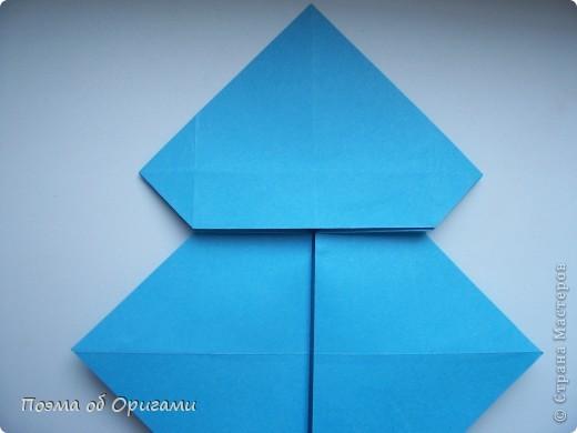 Наш сказочный щенок будет жить в корзинке сложенной в технике оригами, как и он сам.  Идея его создания забавного песика принадлежит Эдвину Кови, а вот корзинку придумал Альдо Патиниьяно. фото 16