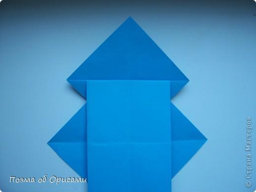 Наш сказочный щенок будет жить в корзинке сложенной в технике оригами, как и он сам.  Идея его создания забавного песика принадлежит Эдвину Кови, а вот корзинку придумал Альдо Патиниьяно. фото 17