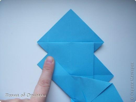 Наш сказочный щенок будет жить в корзинке сложенной в технике оригами, как и он сам.  Идея его создания забавного песика принадлежит Эдвину Кови, а вот корзинку придумал Альдо Патиниьяно. фото 18