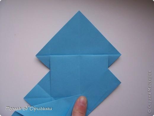 Наш сказочный щенок будет жить в корзинке сложенной в технике оригами, как и он сам.  Идея его создания забавного песика принадлежит Эдвину Кови, а вот корзинку придумал Альдо Патиниьяно. фото 19