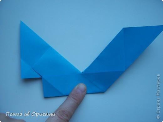 Наш сказочный щенок будет жить в корзинке сложенной в технике оригами, как и он сам.  Идея его создания забавного песика принадлежит Эдвину Кови, а вот корзинку придумал Альдо Патиниьяно. фото 22