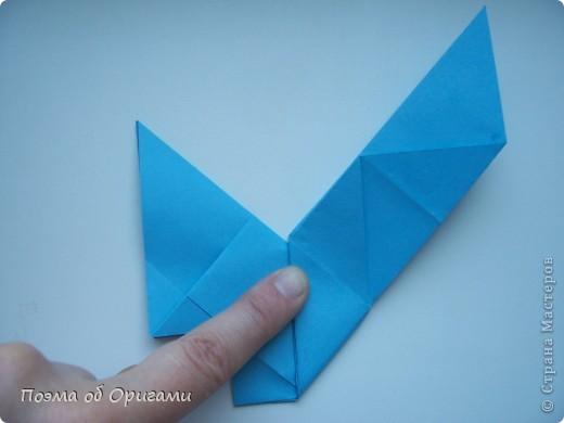 Наш сказочный щенок будет жить в корзинке сложенной в технике оригами, как и он сам.  Идея его создания забавного песика принадлежит Эдвину Кови, а вот корзинку придумал Альдо Патиниьяно. фото 23