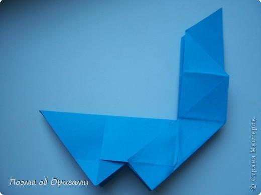 Наш сказочный щенок будет жить в корзинке сложенной в технике оригами, как и он сам.  Идея его создания забавного песика принадлежит Эдвину Кови, а вот корзинку придумал Альдо Патиниьяно. фото 24