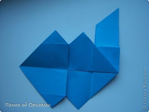 Наш сказочный щенок будет жить в корзинке сложенной в технике оригами, как и он сам.  Идея его создания забавного песика принадлежит Эдвину Кови, а вот корзинку придумал Альдо Патиниьяно. фото 25