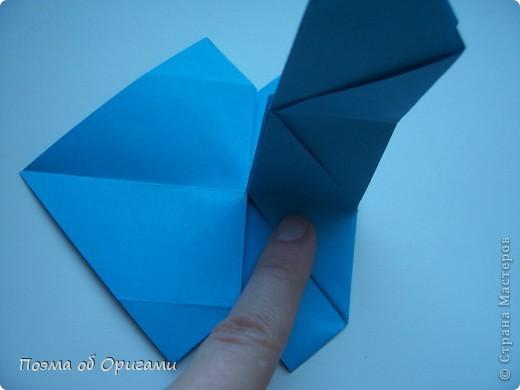 Наш сказочный щенок будет жить в корзинке сложенной в технике оригами, как и он сам.  Идея его создания забавного песика принадлежит Эдвину Кови, а вот корзинку придумал Альдо Патиниьяно. фото 26