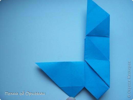 Наш сказочный щенок будет жить в корзинке сложенной в технике оригами, как и он сам.  Идея его создания забавного песика принадлежит Эдвину Кови, а вот корзинку придумал Альдо Патиниьяно. фото 27