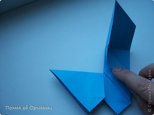 Наш сказочный щенок будет жить в корзинке сложенной в технике оригами, как и он сам.  Идея его создания забавного песика принадлежит Эдвину Кови, а вот корзинку придумал Альдо Патиниьяно. фото 28