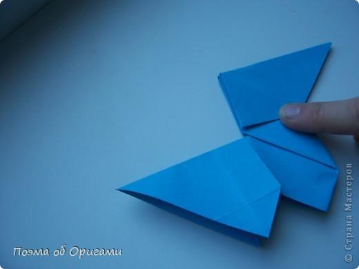 Наш сказочный щенок будет жить в корзинке сложенной в технике оригами, как и он сам.  Идея его создания забавного песика принадлежит Эдвину Кови, а вот корзинку придумал Альдо Патиниьяно. фото 29