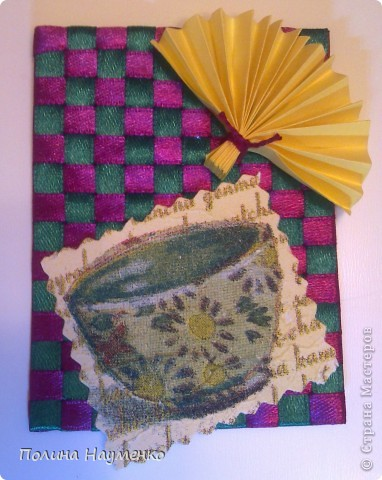 вторая проба пера... фон - это плетенка... фото 3