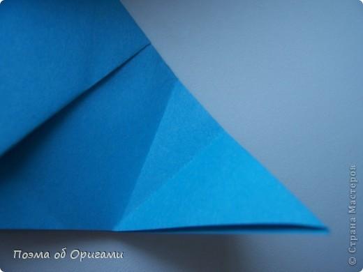 Наш сказочный щенок будет жить в корзинке сложенной в технике оригами, как и он сам.  Идея его создания забавного песика принадлежит Эдвину Кови, а вот корзинку придумал Альдо Патиниьяно. фото 30