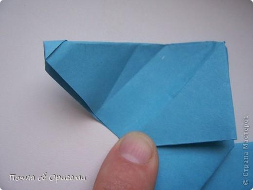 Наш сказочный щенок будет жить в корзинке сложенной в технике оригами, как и он сам.  Идея его создания забавного песика принадлежит Эдвину Кови, а вот корзинку придумал Альдо Патиниьяно. фото 33