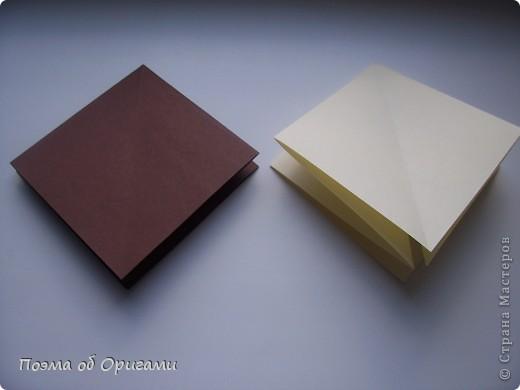 Наш сказочный щенок будет жить в корзинке сложенной в технике оригами, как и он сам.  Идея его создания забавного песика принадлежит Эдвину Кови, а вот корзинку придумал Альдо Патиниьяно. фото 35