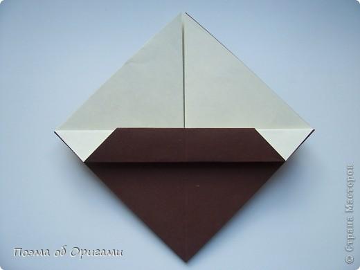 Наш сказочный щенок будет жить в корзинке сложенной в технике оригами, как и он сам.  Идея его создания забавного песика принадлежит Эдвину Кови, а вот корзинку придумал Альдо Патиниьяно. фото 39
