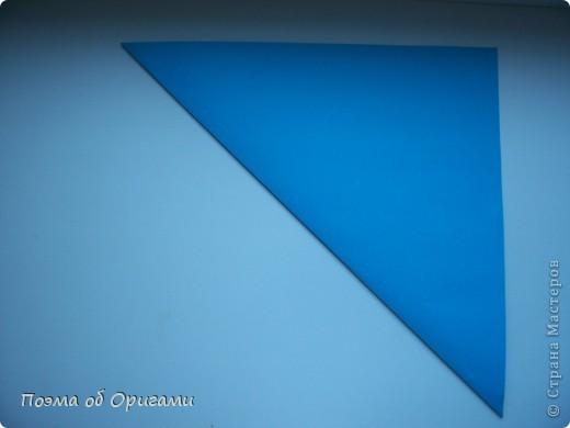 Наш сказочный щенок будет жить в корзинке сложенной в технике оригами, как и он сам.  Идея его создания забавного песика принадлежит Эдвину Кови, а вот корзинку придумал Альдо Патиниьяно. фото 4