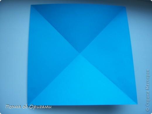 Наш сказочный щенок будет жить в корзинке сложенной в технике оригами, как и он сам.  Идея его создания забавного песика принадлежит Эдвину Кови, а вот корзинку придумал Альдо Патиниьяно. фото 5