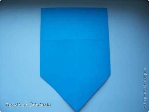 Наш сказочный щенок будет жить в корзинке сложенной в технике оригами, как и он сам.  Идея его создания забавного песика принадлежит Эдвину Кови, а вот корзинку придумал Альдо Патиниьяно. фото 7