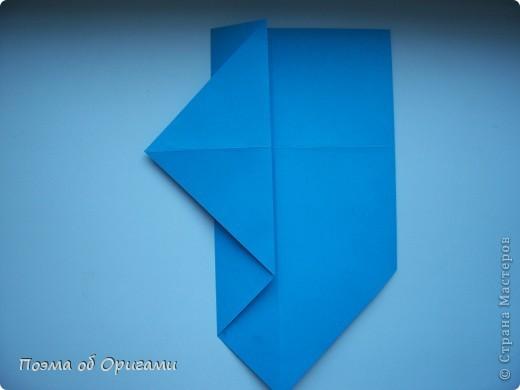 Наш сказочный щенок будет жить в корзинке сложенной в технике оригами, как и он сам.  Идея его создания забавного песика принадлежит Эдвину Кови, а вот корзинку придумал Альдо Патиниьяно. фото 8
