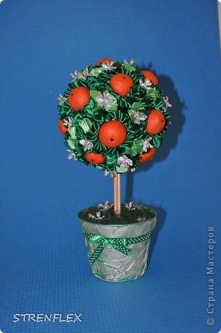 Вот представляю на ваш суд мое первое дерево сделанное на заказ!!! До этого все мои деревья расходились на подарки друзьям и родственникам. А это уже моя подруга заказала мне это дерево для на свадьбу для своей сестры. фото 1