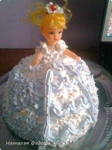 Моя первая кукла.Извиняюсь за качество фото. Снимала на телефон. фото 2