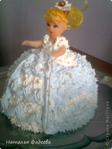 Моя первая кукла.Извиняюсь за качество фото. Снимала на телефон. фото 3