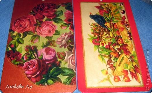 Салфетка, клей ПВА, краска акриловая, лак. фото 3