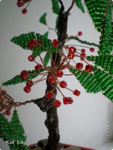 Делала это деревце осенью. фото 3