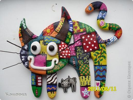 Кошка-Заплатка)))) фото 3